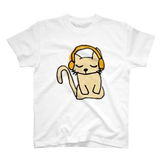 聞く耳ねこ T-shirts