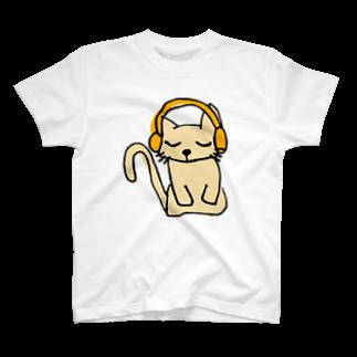 聞く耳ねこのお店の聞く耳ねこ T-shirts
