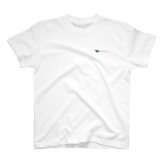 シャツ wearmeロゴ 紺 T-shirts