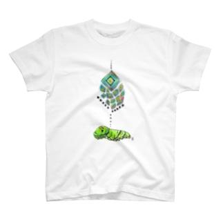 芋虫の夢 T-shirts
