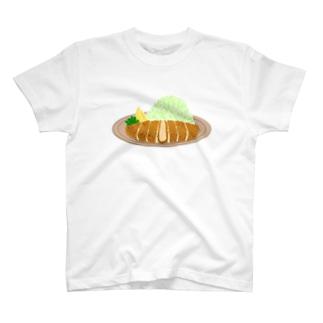 とんかつ T-shirts