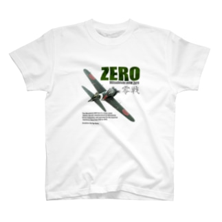 kazu Aviation Artの零戦 T-shirts