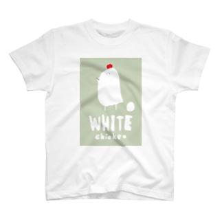 ニワトリの絵 T-shirts