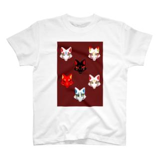 狐面 T-shirts