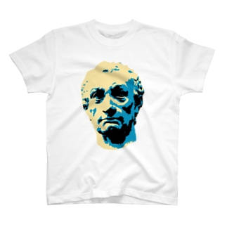 石膏像ガッタメラータステッカー T-shirts