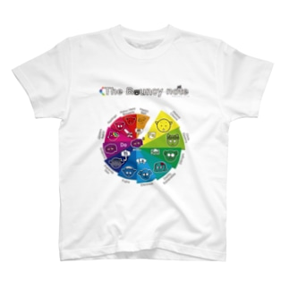 The Bouncy note (spiral A) T-shirts