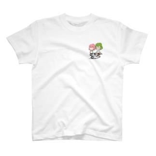 歯車比堂ふたり T-shirts