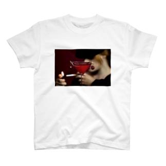 neko_otoko999 カクテル T-shirts