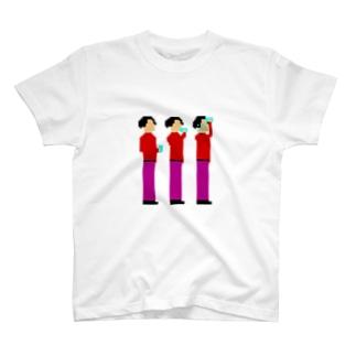 水飲み ジロウ T-shirts