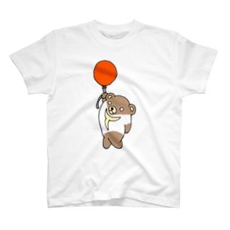 Tシャツくま  風船バージョン T-shirts