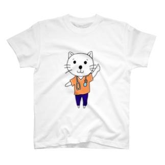 リハコネコ3 T-shirts