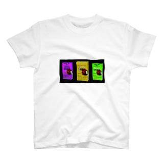 タバコポップアート T-shirts