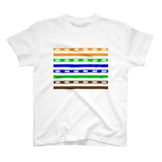 UTPケーブル/100BASE-TX/両面 T-shirts
