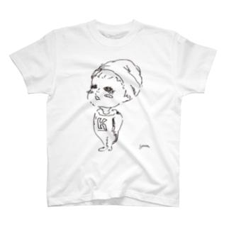 木池くん T-shirts