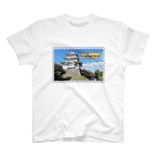 日本の城:忍城★白地の製品だけご利用ください!! Japanese castle: Oshi Castle/ Gyoda★Recommend for white base products only !! T-shirts