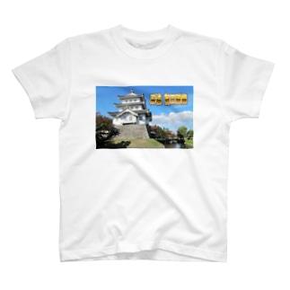 日本の城:忍城 Japanese castle: Oshi Castle/ Gyoda T-shirts