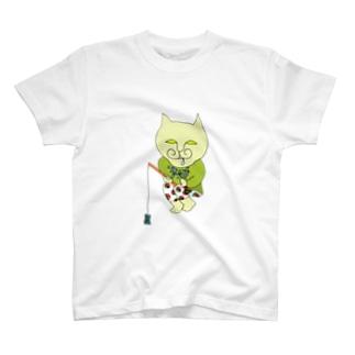 やっぱり釣りが好きクリーミー T-shirts