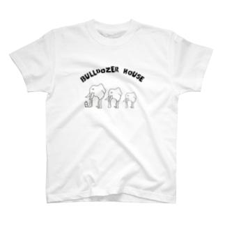 ブルドーザーハウス T-shirts