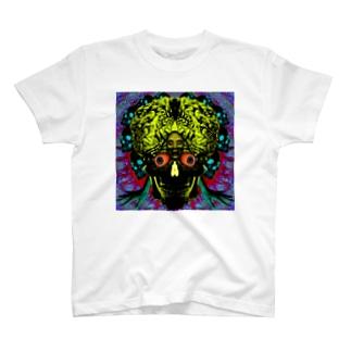 骸骨脳目 T-shirts