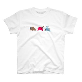 愉快な3人組 T-shirts