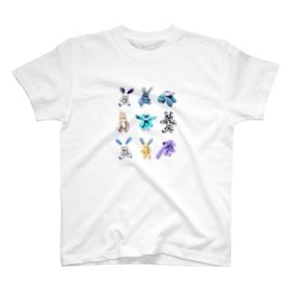 縫いぐるみファミリー T-shirts