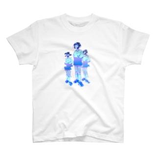 未確認発光体!少女X @glitch ver. T-shirts