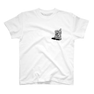 あるタバコモノクロ T-shirts