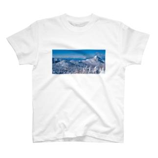 雪山シリーズ_01 T-shirts