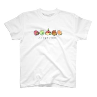 ハルノキ工房のミノリトリ T-shirts