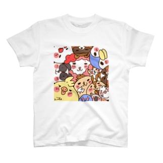 ひなたのアトリエ ひなたとゆかいな仲間たちシリーズ T-shirts