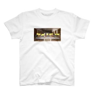 MURIKI_MURIKIの最後の晩餐(きもい) T-shirts