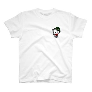 ポジティブ猫ヤミー はじめの一歩 T-shirts
