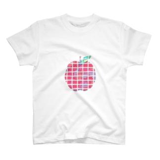 りんご Tシャツ T-shirts