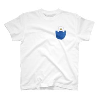 ポケット T-shirts