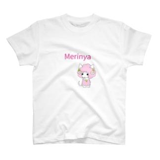 羊になりたい猫メリニャ T-shirts