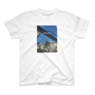 SAMPO / 青空と薔薇 T-shirts