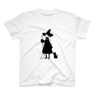 袖長まじょこ T-shirts