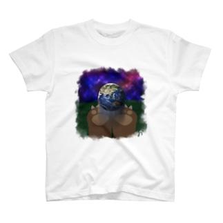 地球にやさしく T-shirts