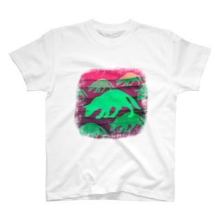 10.4 サイケデリック T-shirts