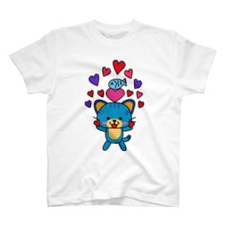 にゃら☆ハート T-shirts