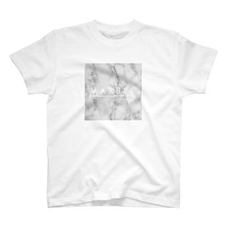 マーブル T-shirts