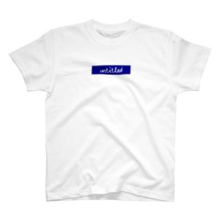 untitled ボックスロゴ T-shirts