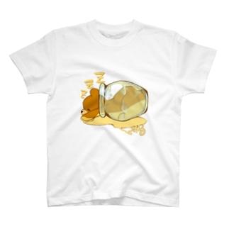はちみつクマちゃん( 縁なし) T-shirts