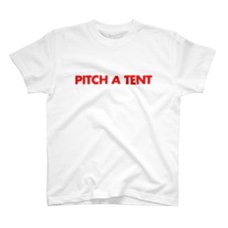 テントを立てる T-shirts