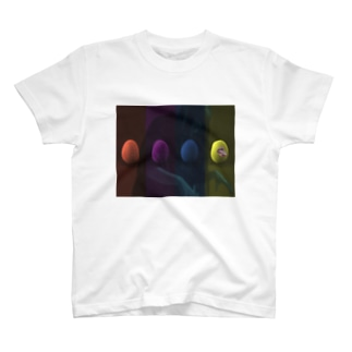 egg輪 T-shirts