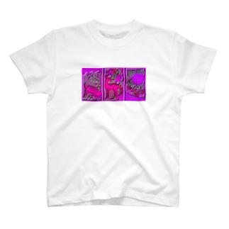 イノシカチョウ T-shirts