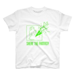 fantasticグリーン T-shirts