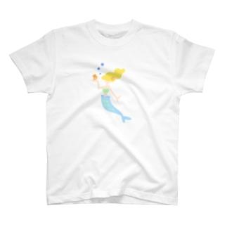憧れの人魚サン T-shirts