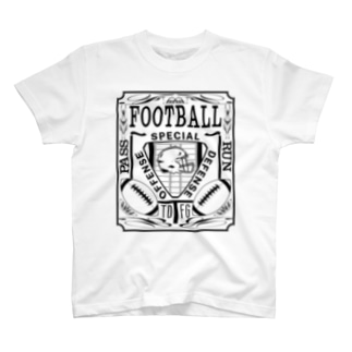 PB-FOOTBALL ブラック T-shirts