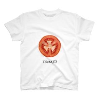 #38 「TOMATO」~北本市~ T-shirts